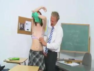 Girl decides to study with teacher
