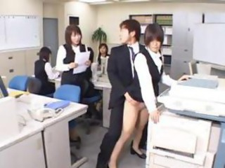 Cute Asian Secretary Fucked