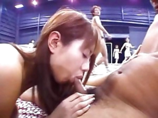 Asian sportsgirl nailed hard on the floor