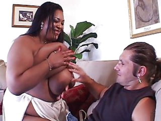 Pretty BBW ebony pussy on the prowl