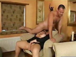 Fat German brunette with huge tits prog cock and gets banged