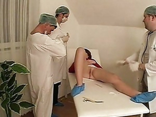 Nurse bisexual threesome fucking wild