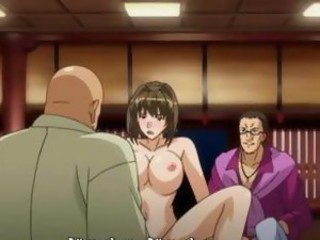 Japanese hentai girls gets double penetration and gangbanged by bandits