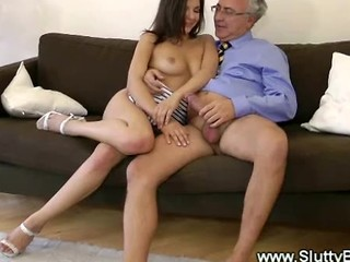 Naughty Teen Is Eager For Mature Cock