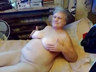 Grandma Cool-headed Loves Masturbates ! Amateur