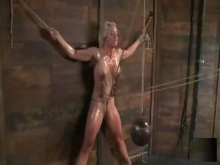 Blonde Holly Heart Is Tied Give And Abused By Her Feral Master