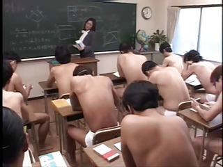 Asian Bukkake MILF Pornstar School Teacher