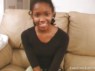 Amateur Cute Ebony Teen