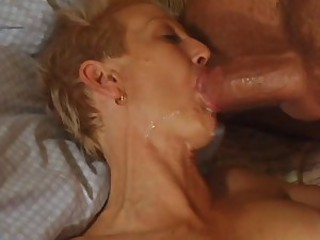 Blowjob Cumshot Mature Smoking Swallow