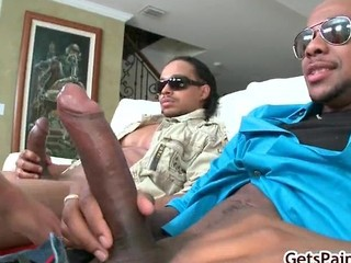 Twenty Inches Of Massive Cock Is Gonna Part4