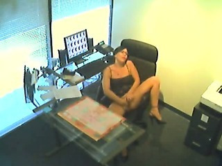 Sexy Secretary Gets Off
