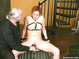 Slave Is Learning About Pain From Clamping