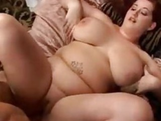 BBW beauty gets a damn fine pounding