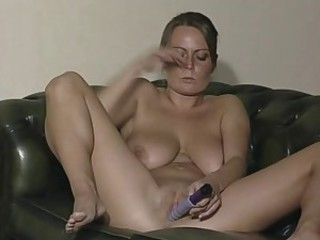 British Slut Alexis May in solo bit