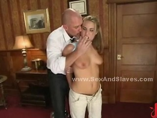 Sex Slave Spanked By Sado Maso Master And Fucked In Rough Sex And