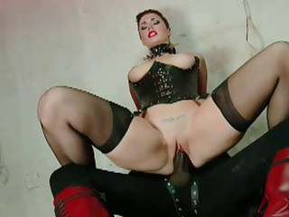 British Slut Paige Turnah gets fucked on touching a kinky scene