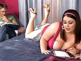 Amazing BBW Big Tits Cute Fantasy MILF Natural Pornstar