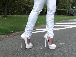 The highest heels of Julie Skyhigh