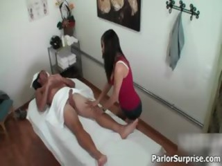 Cute asian babe goes crazy jerking part6