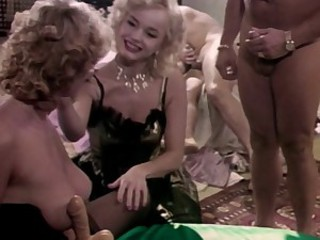 Marilyn Dazzles in Outrageous 80's Anal and DP Orgy! Part 1.