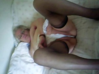 Marion, 85, strips for Tal