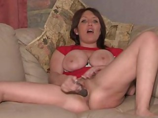 British MILF slut Penelope in a shore up steady of solo scenes