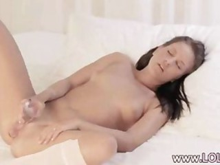 luxury brunette fucking with guy