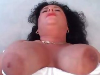 Busty horny mature dark brown gives part4