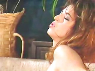 Vintage beauties do some lesbian sex and masturbation in this video