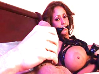 Eva Notty lovely boobs in bondage