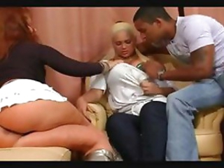 Michelle (Michelly) Fernandez (Ferrari) and Babalu threesome