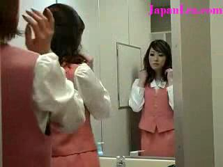 Panties Ripped Off in Bathroom Asian Lesbian Rape