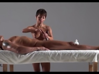 Extremely Erotic Massage Handjob to Completion