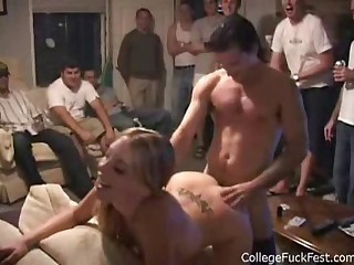 Girl fucked at the Party