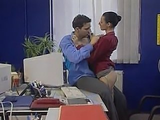 Secretary gets it in the office - Hardcore sex video -