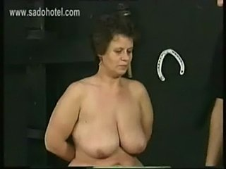 Superannuated german brutal slave alongside big ass and large tits got hit w free