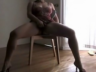 Mastubation Orgasm Squirting exceeding the chair