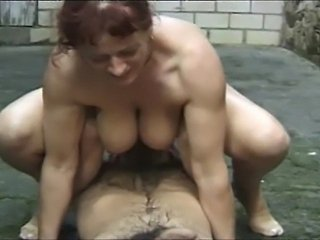 Mature Outdoor Pissing