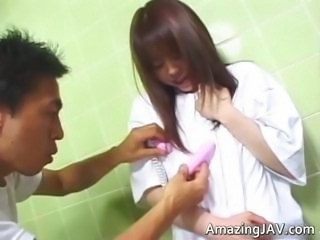 Japanese teen girl gets abused part5