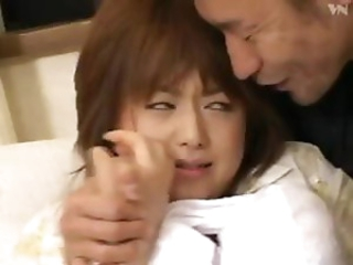 Yoshizawa Sukiari is a tender Japanese bitch who gets forced to have sex