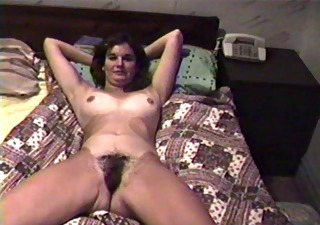 Amateur Hairy Homemade  Vintage Wife