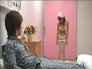 Asian Japanese Lingerie Nurse Stripper Teen Uniform