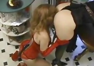 Ass Corset Kitchen Latex Lesbian Lingerie Vintage
