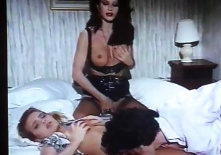 Cute European Italian Licking  Pornstar Threesome Vintage