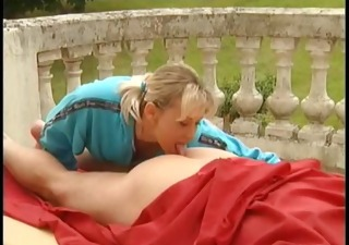 European German Licking Outdoor Teen Vintage