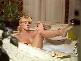 Bathroom Blonde Cute Legs  Vintage
