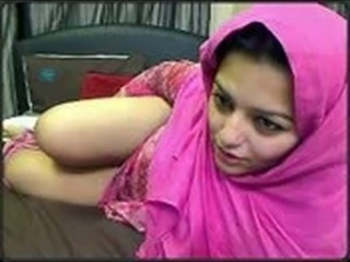 Arab Cute Masturbating  Solo Webcam