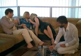 Drunk Groupsex  Swingers Vintage Wife