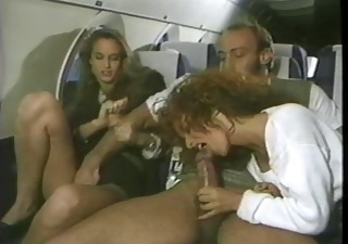 Blowjob British European  Public Threesome Vintage