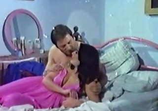 horny wife in pink night gown screwed